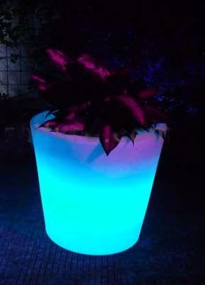 outdoor garden light Solar Flower Pot Lights Led Planter Lamp garden landscape Vase lighting Yard Home Lantern Christmas