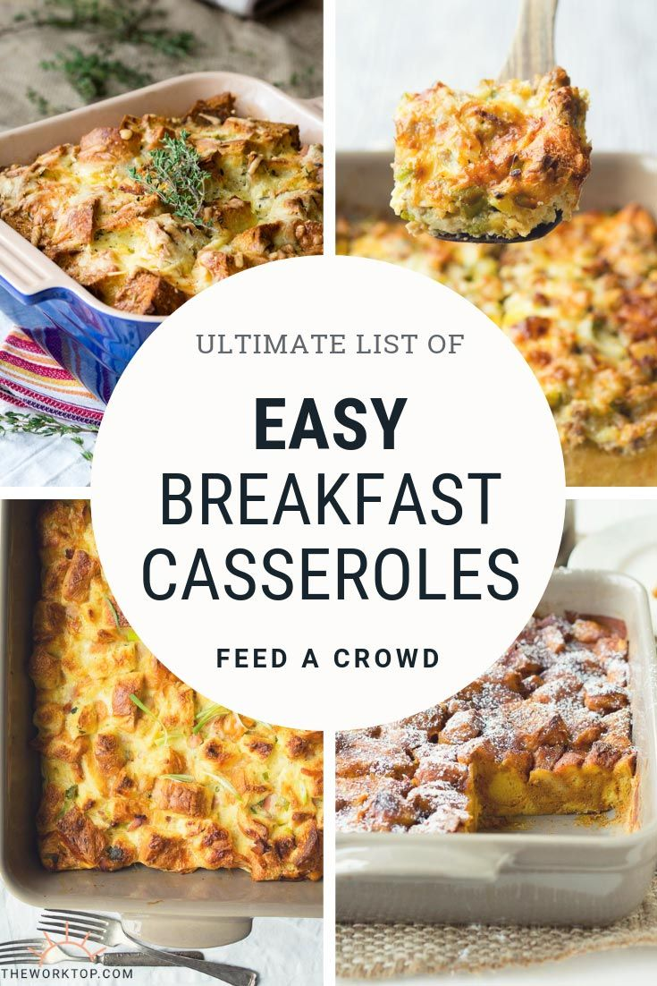 15 Easy Breakfast Casserole Recipes images