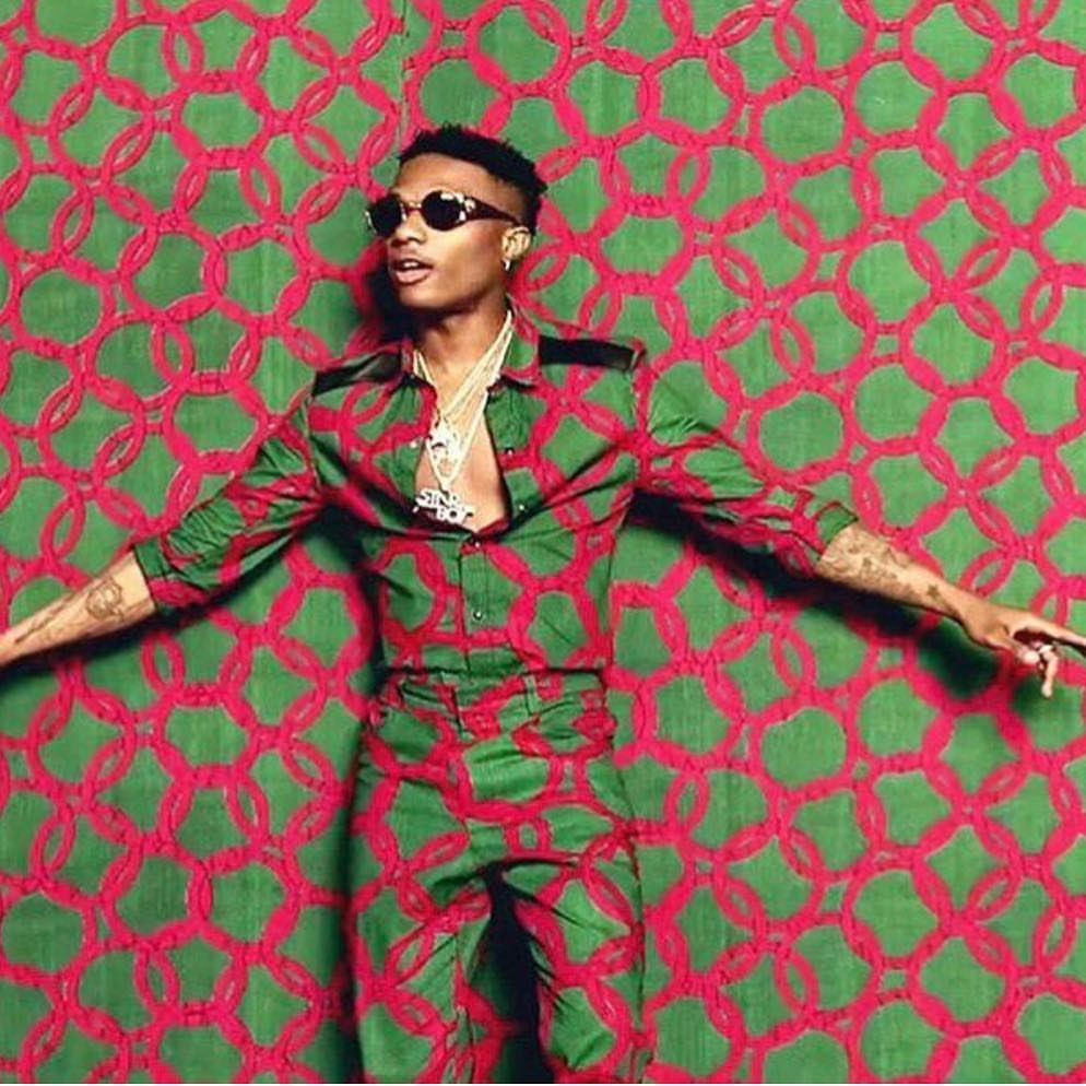 1 512 Mentions J Aime 19 Commentaires Wizkid Wizkid Official Sur Instagram Number 1 Starboy African Men Fashion African Fashion Androgynous Fashion