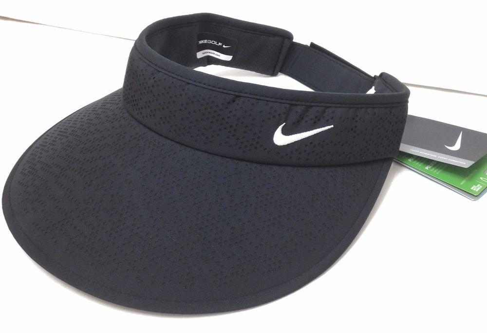 Women NIKE GOLF WIDE BRIM VISOR Dri Fit Polyester Lightweight Dry Tennis  Sun Hat  Nike  Visor  Golf c8d5ae819c3