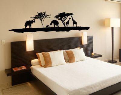 Wandtattoo Elefant Giraffe NoTM10 Elefanten und Giraffen Jetzt - wandtattoo schlafzimmer sprüche
