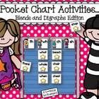 Pocket charts are a staple in every primary classroom! Put yours to good use with this fun blends and digraphs pocket chart activity. Simply print,...