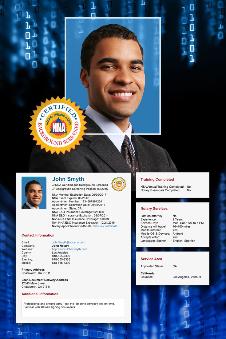 Make the most out of your signing agent profile notary