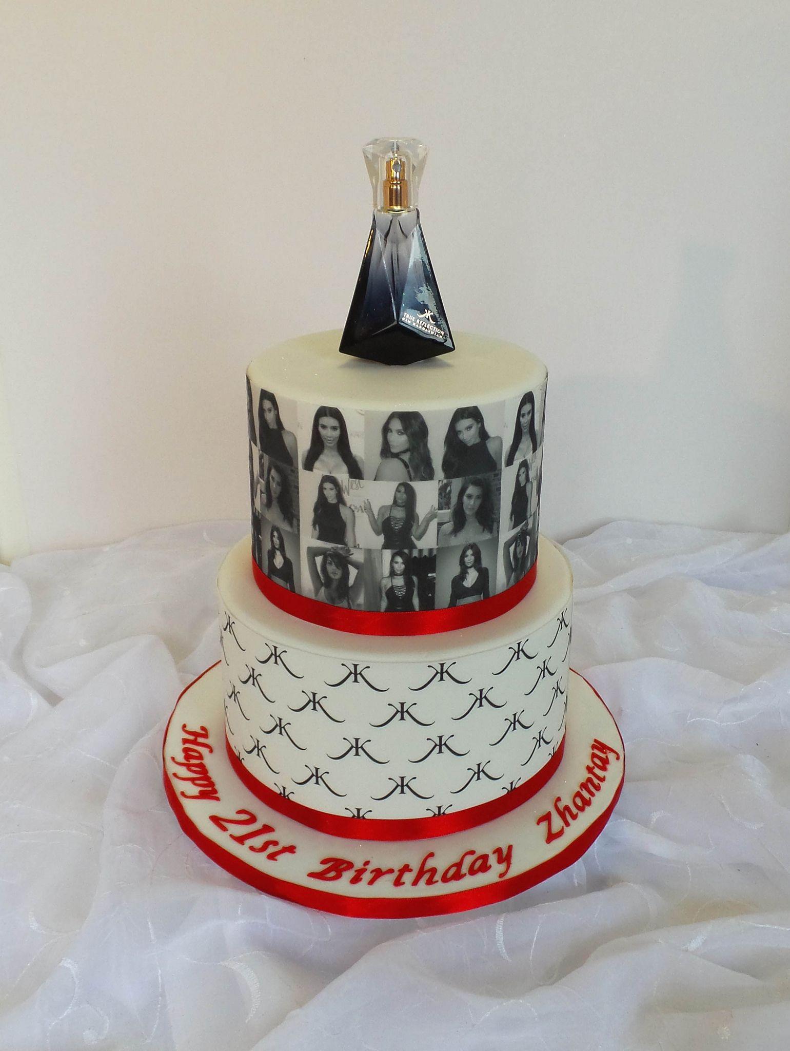 Kim Kardashian themed 21st birthday cake in 2020 Special