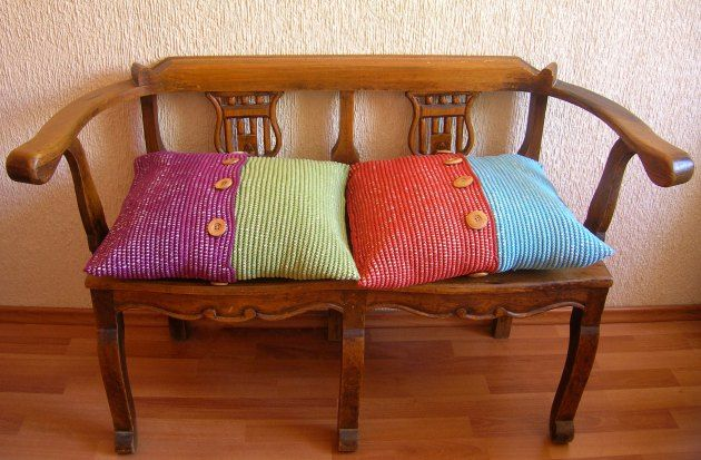 DIY Crochet cushion cases/ Hazlo tú mismo, fundas para almohadones/ cojines a ganchillo