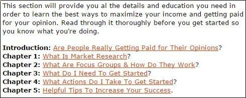 Paid Surveys At Home very limited training