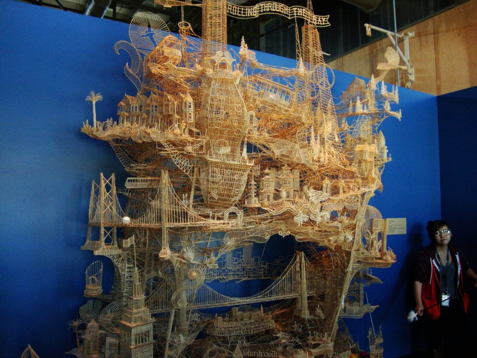 Image result for toothpick sculptures