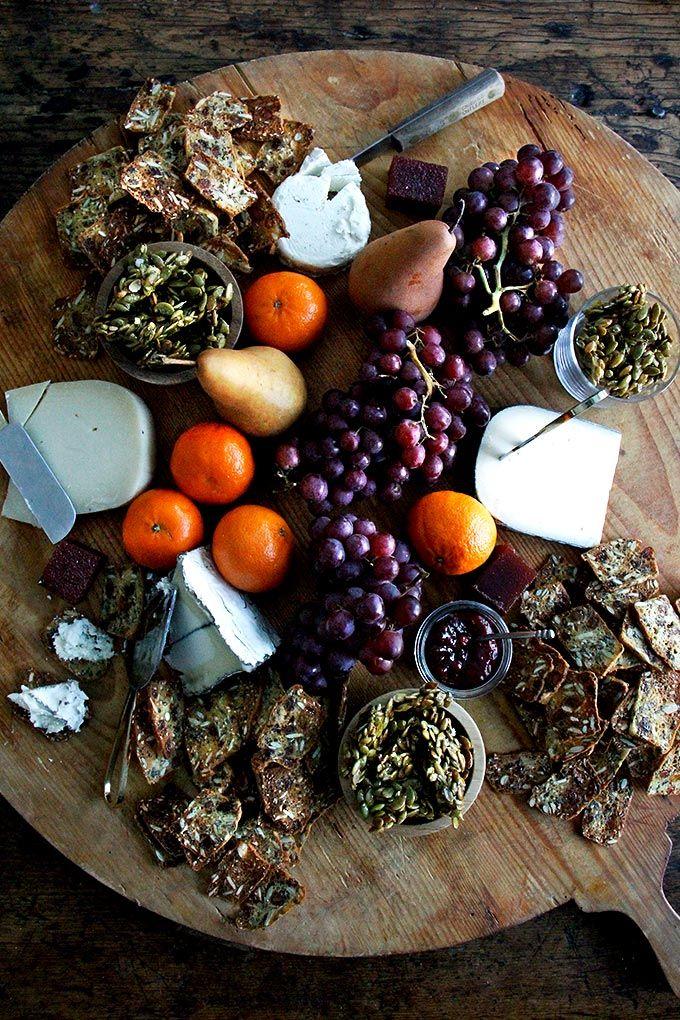 Three-Seed Crackers (Jan's Farmhouse Crisps & Raincoast Crisps Copycat Recipe) + How to Assemble A Cheese Board (Video)