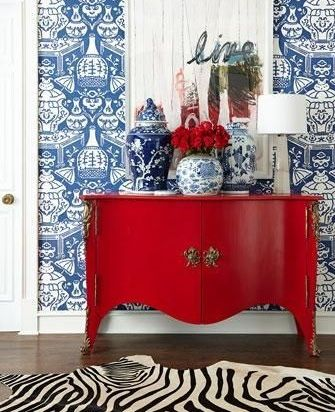 The Relished Roost: A Penchant For Patriotic Colors