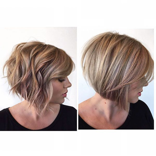 2019 Bob Haircut And Hairstyle Ideas Bob Hairstyles Hair Styles Wavy Bob Hairstyles