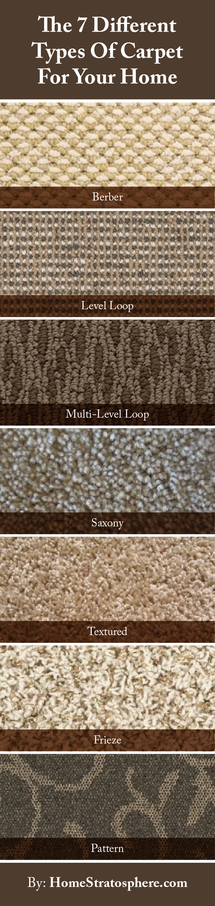 The 7 Different Types Of Carpet For Your Home Types Of Carpet