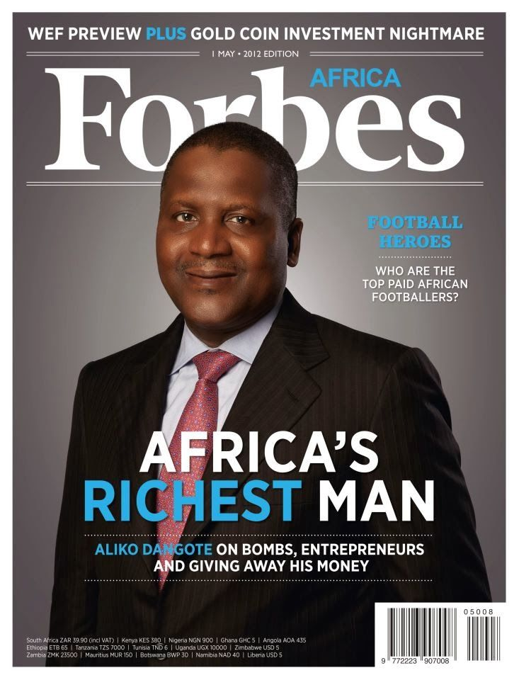 Africa's riches man | Ethnic Culture/Music/History/Influence