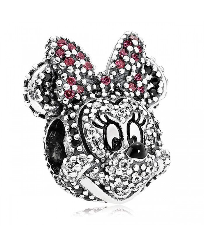 minnie head pandora charm