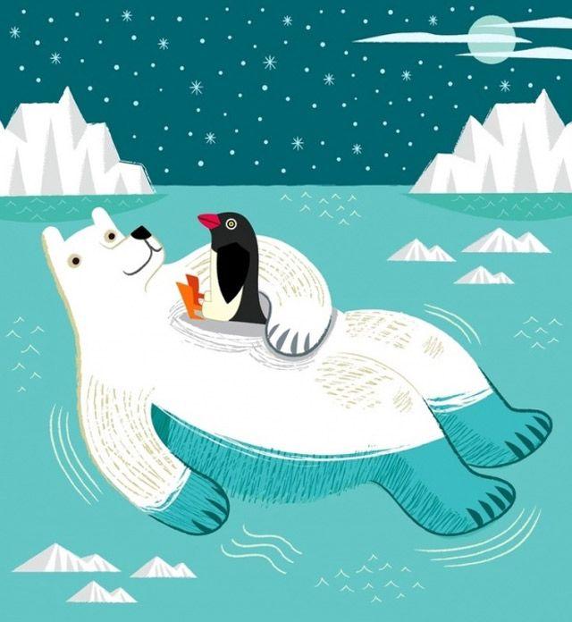 Tierische Illustrationen Oliver Lake (mit Bildern