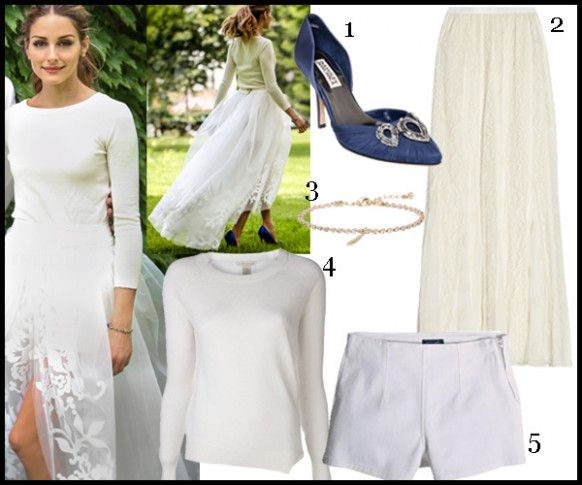 Copy Olivia Palermos Wedding Dress Outfit Fashion Springwedding Outfitoliviapalermo