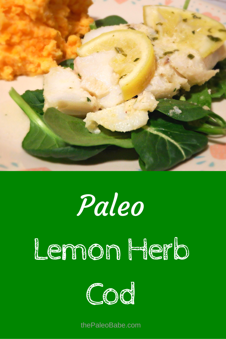 Paleo Lemon Cod Pin