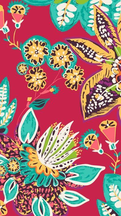 Rumba Mobile Wallpaper Download Iphone Wallpaper Vera Bradley Vera Bradley Wallpaper Floral Wallpaper Iphone