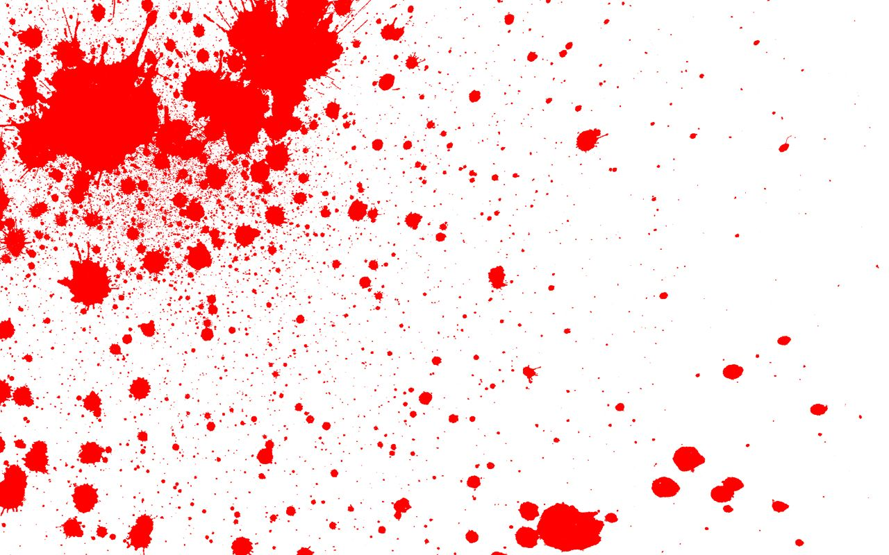 Blood Spatter Patterns Simple Decorating Ideas