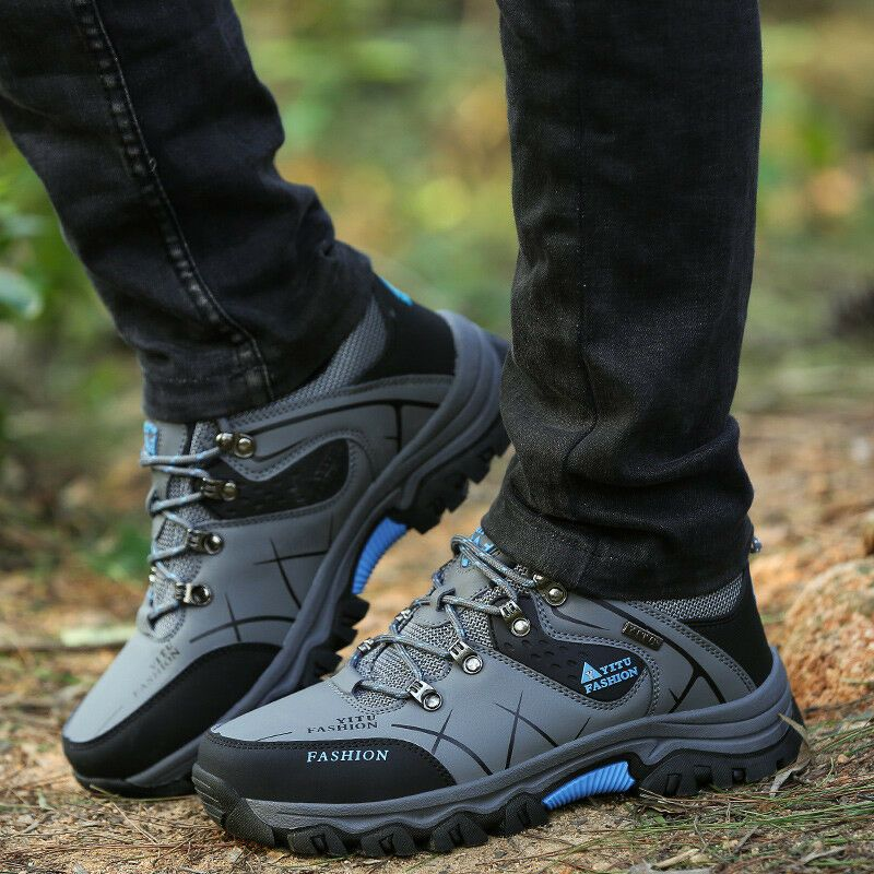 Hiking shoes mens, Ankle boots
