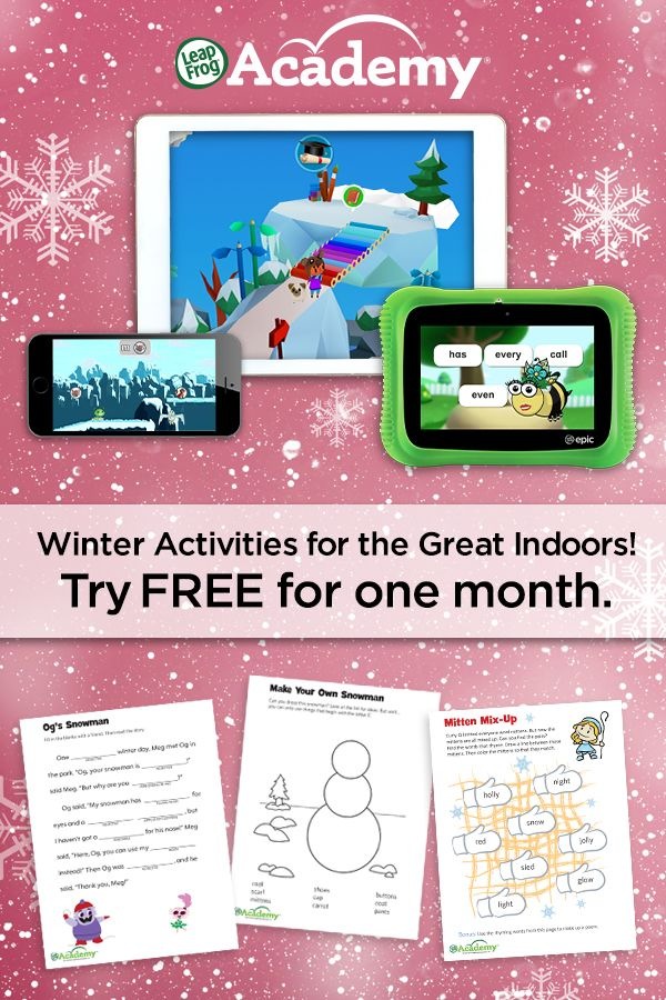 Looking for some indoor winter activities? Check out the