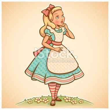 alice in wonderland illustration - Buscar con Google