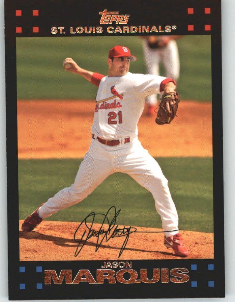 2007 Topps 178 Jason Marquis Chicago Cubs (Baseball