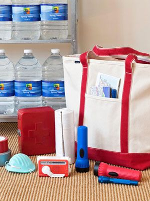 Emergency Preparedness Tips (and also, pretty pictures.)
