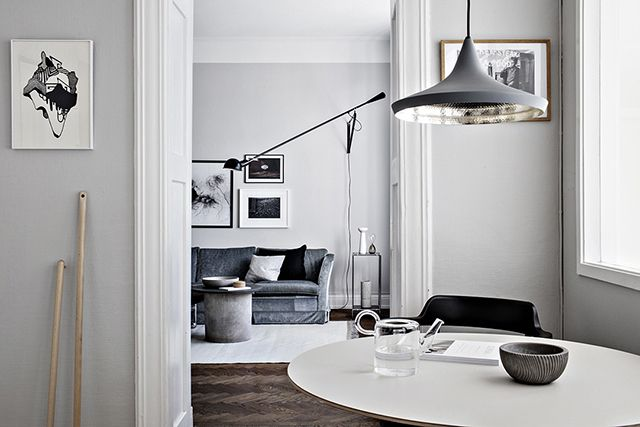 A Swedish Space With Lovely Warm Pools Of Light Inneneinrichtung