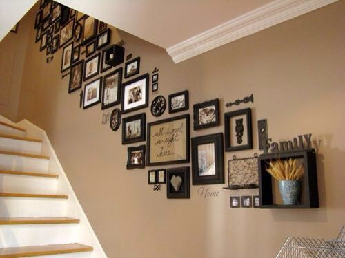 25 photo wall creations that will make your house a hit! idee deco