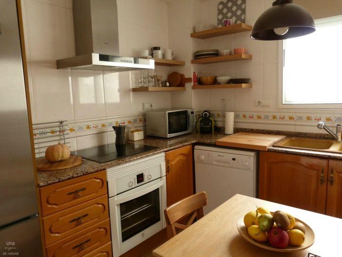 Reforma de mi cocina sin obras | Azulejos pintados, Pintura de ...