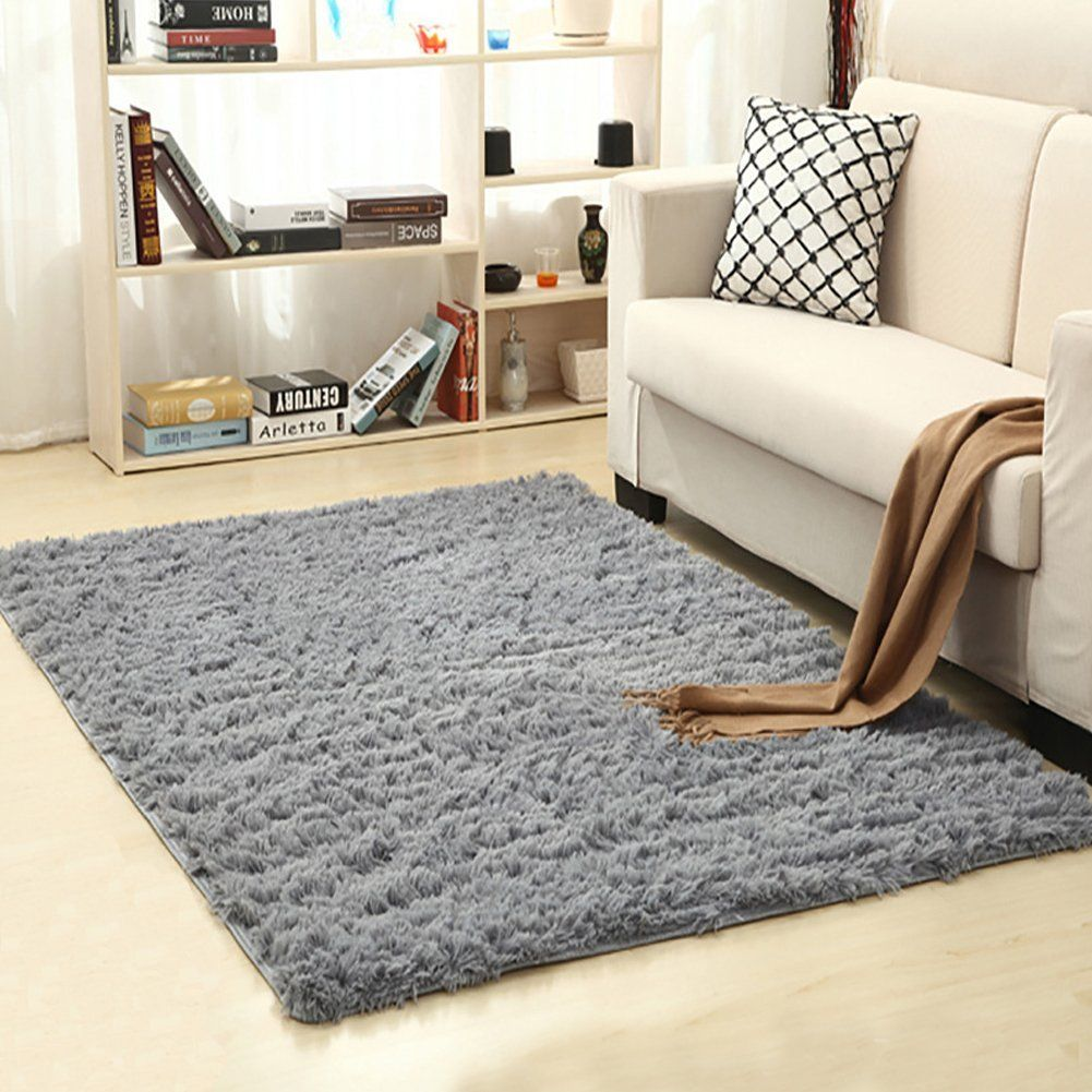 Amazon Com Lochas Soft Indoor Modern Area Rugs Fluffy Living Room