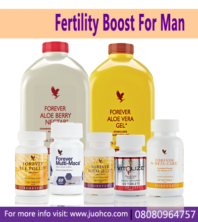 Fertility Boost For Man Pack | 2ND | Forever living products