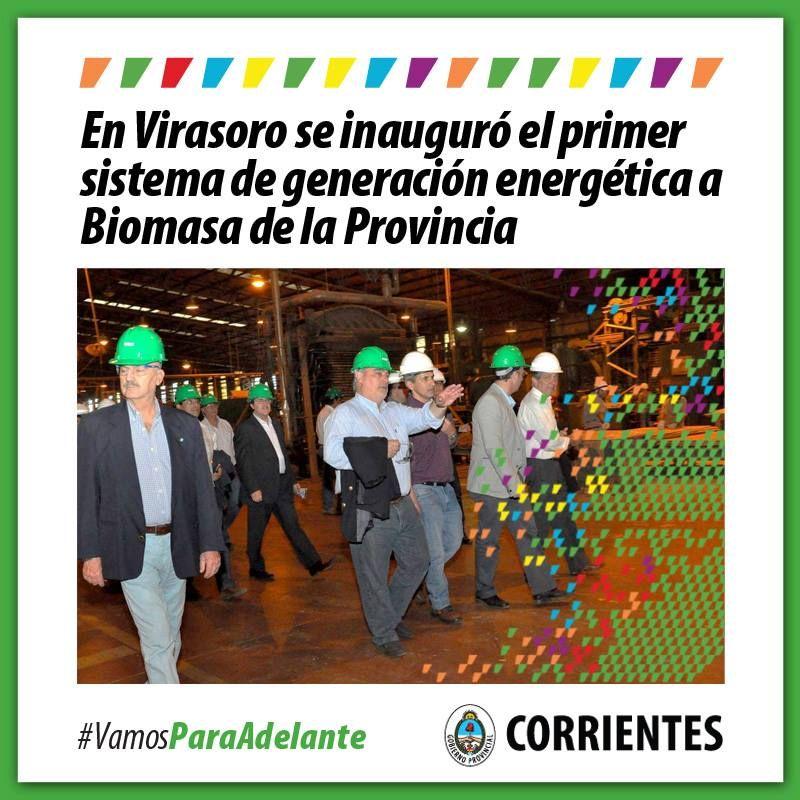Virasoro con una inversión de 30 millones de pesos Colombi inauguró generación de energía alternativa #VamosParaAdelante