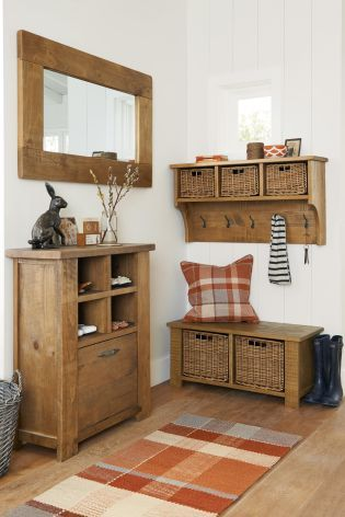 Buy Hartford® Solid Pine Wall Unit from the Next UK online shop ...