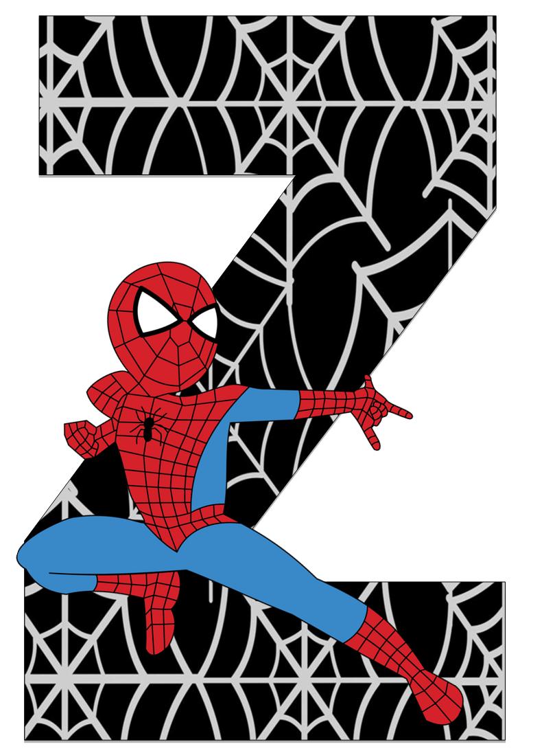 Homem Aranha - Letras e Números | classroom | Pinterest | Spiderman ...