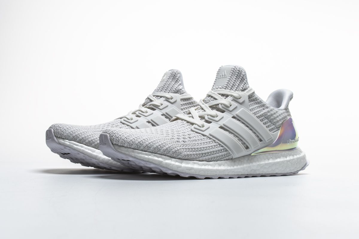 Adidas Ultra Boost 4 0 Iridescent White By1756 Real Boost4 Adidas Fashion Shoes Adidas Outfit Shoes Shoes Sneakers Adidas