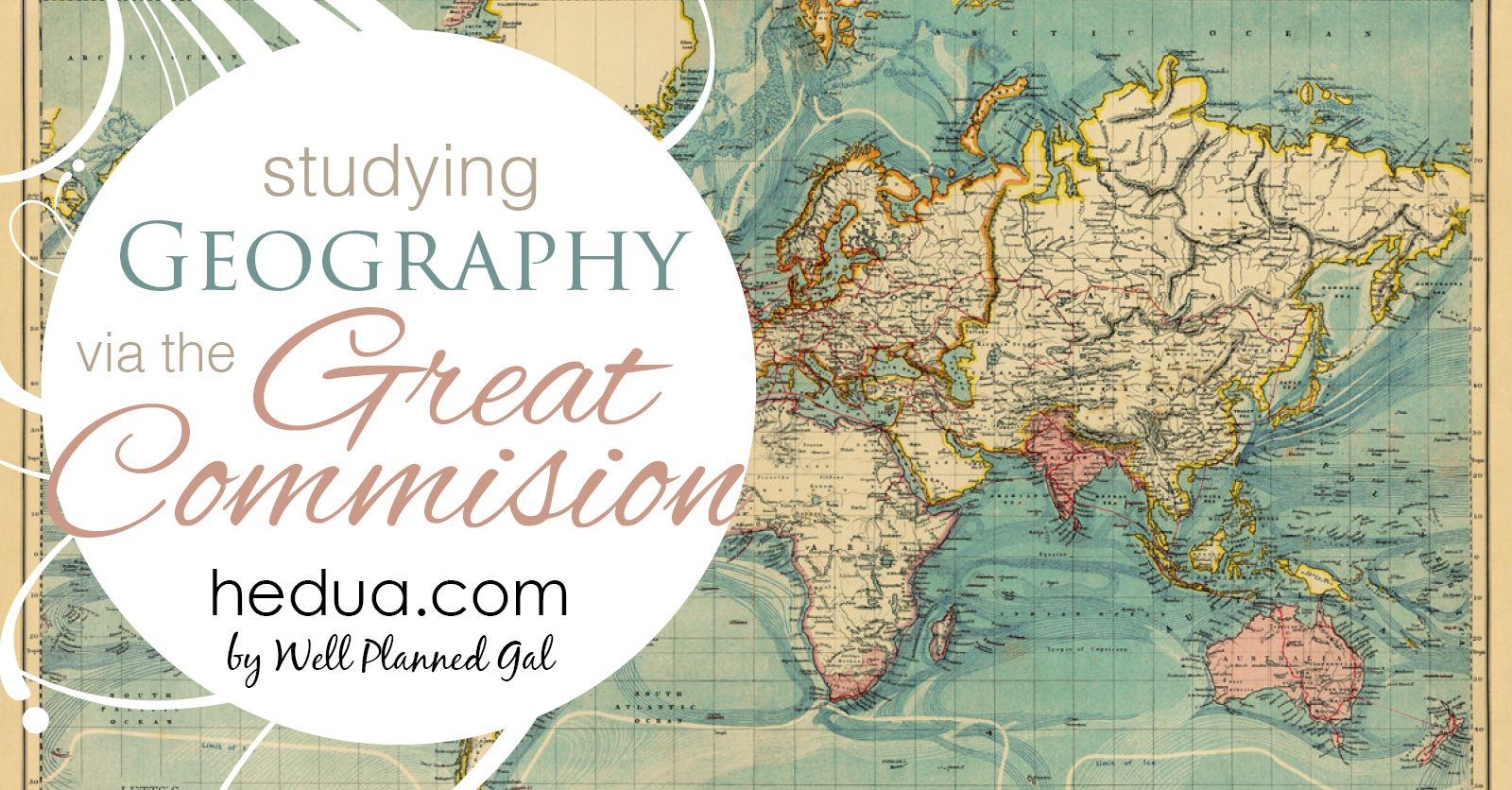 Studying Geography Via The Great Commission