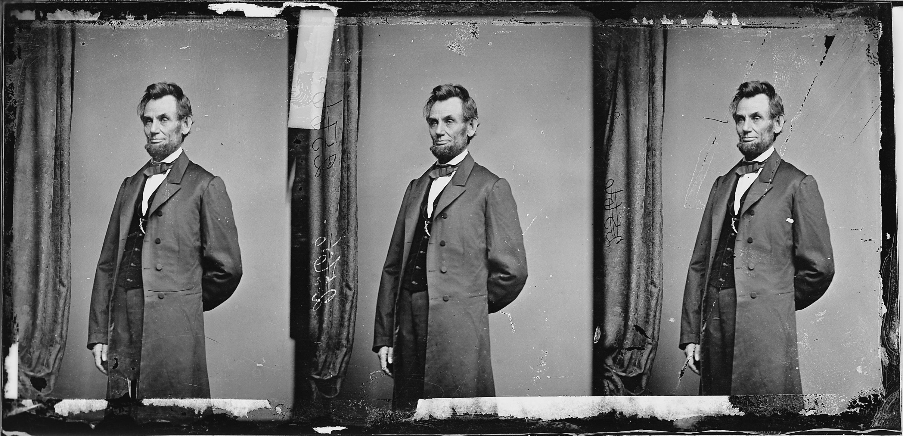 Incredible Portrait Of Abraham Lincoln S