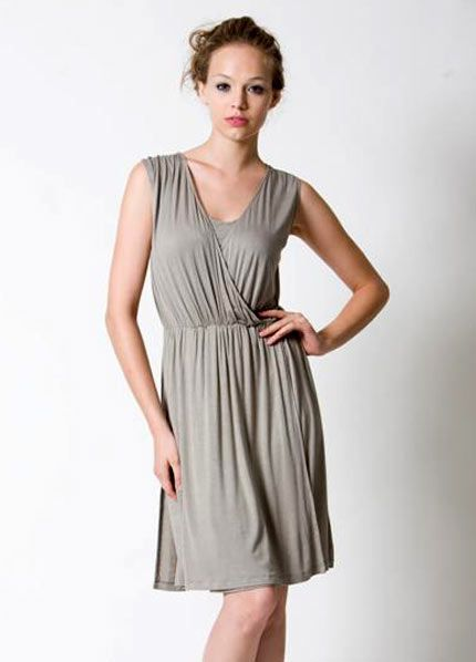 comfy nursing dress...wish it came in a different color