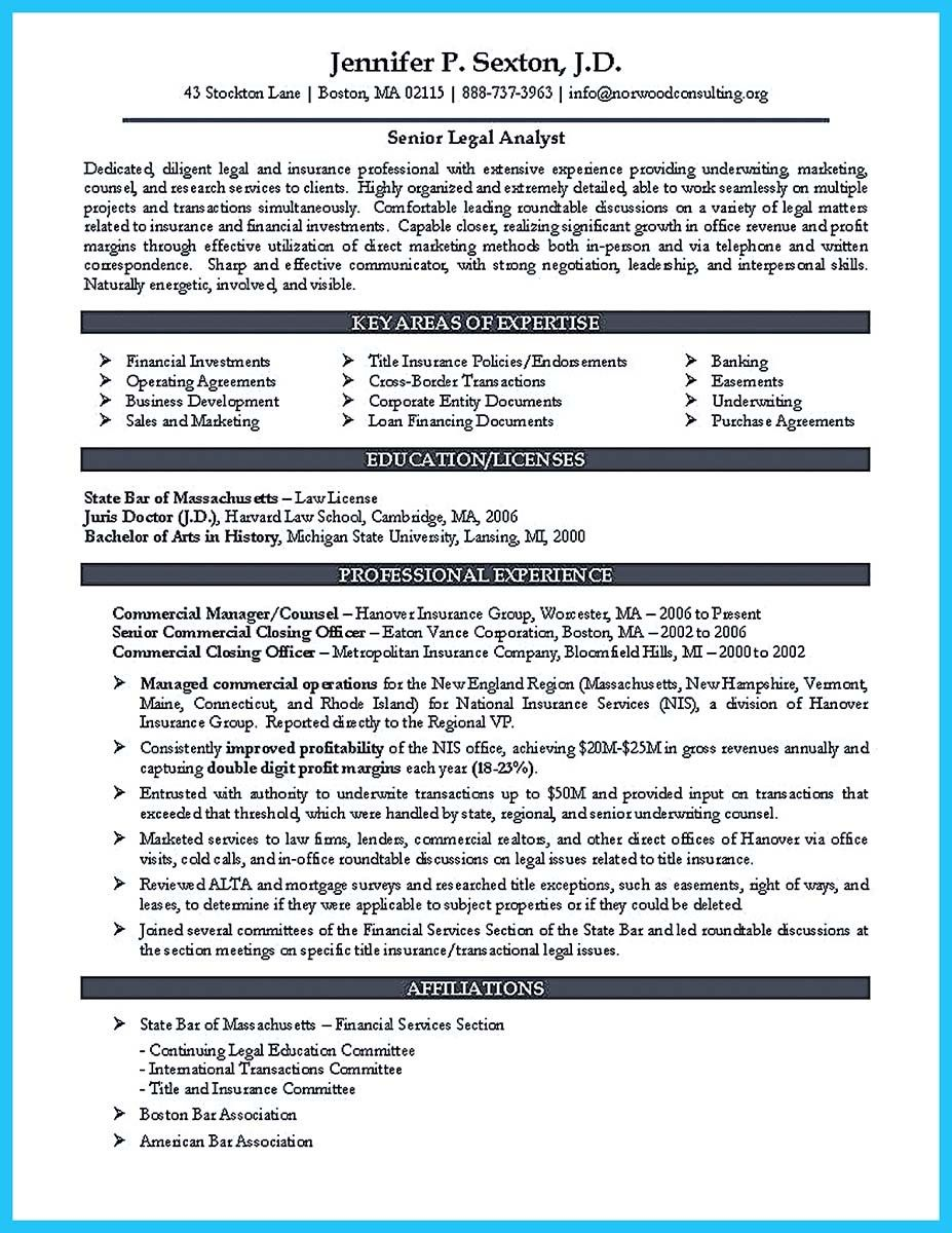 awesome Arranging a Great Attorney Resume Sample, Check