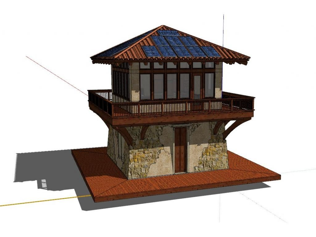 House plan fire house tiny house inspiration pinterest for Fire tower plans