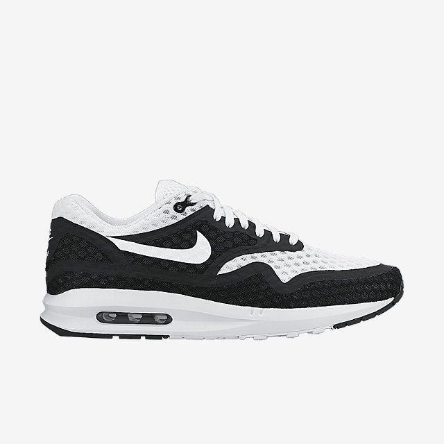 nike air max lunar 1 br black & white store