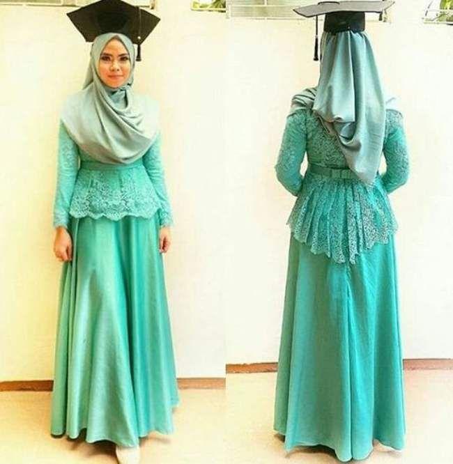 Model Kebaya Wisuda Berjilbab Busana Muslim Pinterest Kebaya