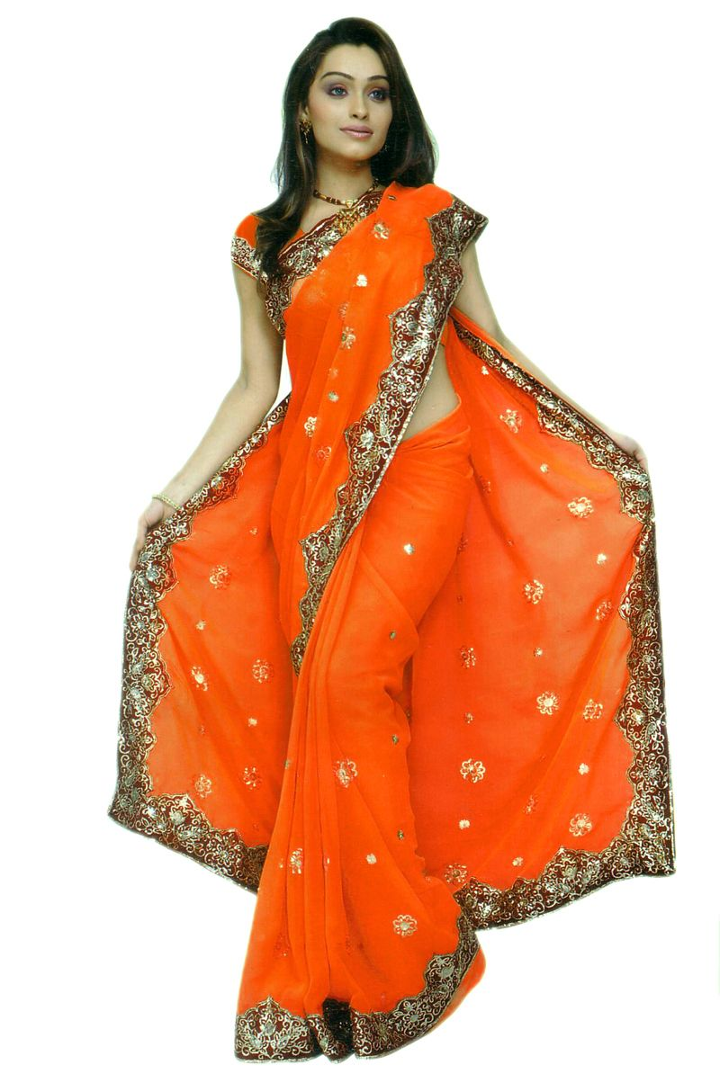 Sari Bridal Designer Heavy Sequin Wedding Saree Sari Dress Ebay