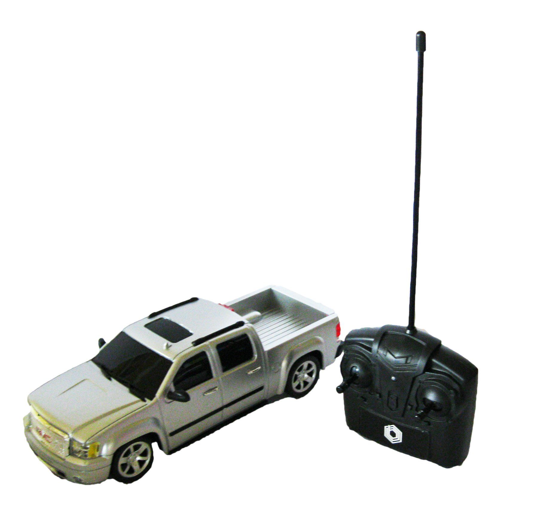 Officially Licensed Gmc Sierra Denali 1 24 Scale Full Function Radio Control Gk Racer Series Truck Silver Find Gmc Sierra Denali Sierra Denali Gmc Sierra