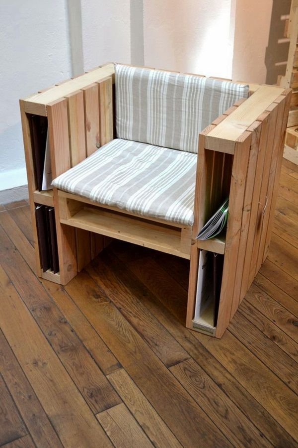 amazing diy pallet furniture ideas 35 - Sillon Palets