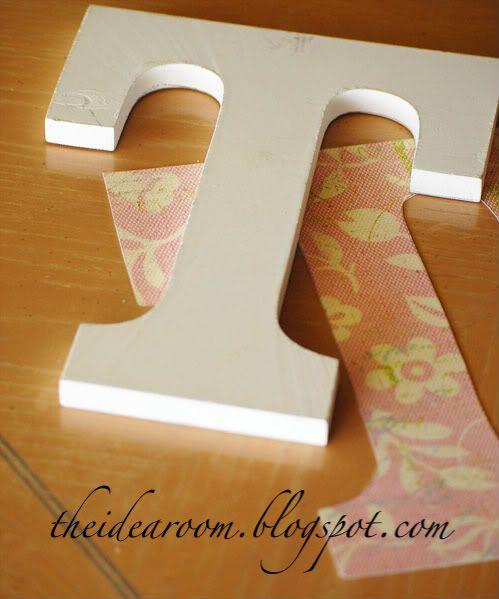 Decorative Initials Craft Ideas Wooden Letters Diy Letters Mod