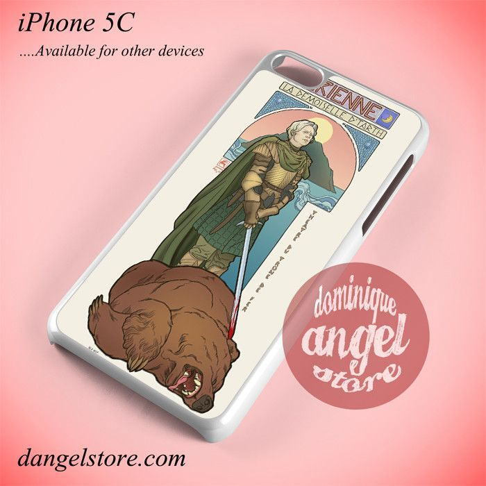 Brienne Game Of Thrones Phone case for iPhone 5C and another iPhone devices