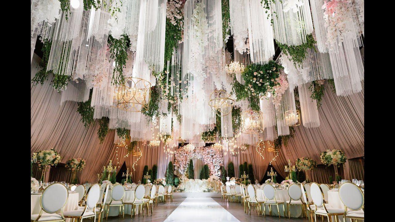 The Most Beautiful Wedding Fidan Fahagnuhi Youtube In 2020 Wedding Decorations Beautiful Weddings Wedding Hall