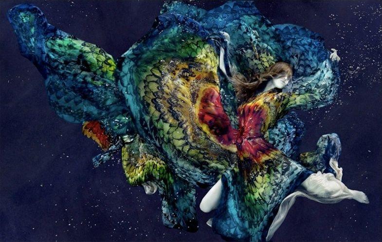 Alix Malka's underwater fashion shoot